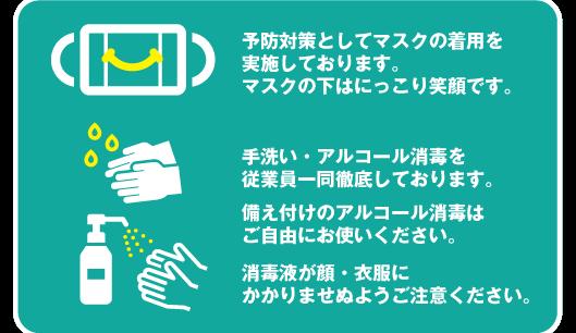 手洗いの奨励