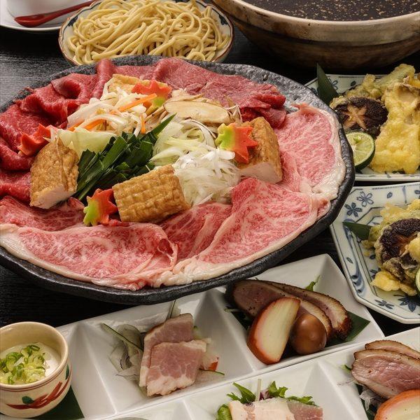 長崎和牛赤味噌鍋コース