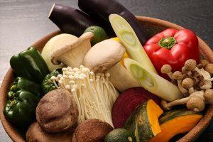 炭火野菜盛合せ